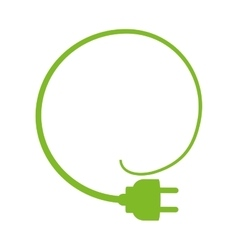 Plug icon save energy design graphic vector