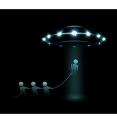Alien abduction vector