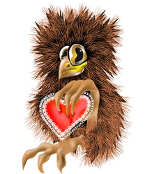 valentine animal vector image vector image