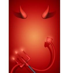 Devil Party Invitation vector image