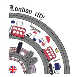 The london city vector
