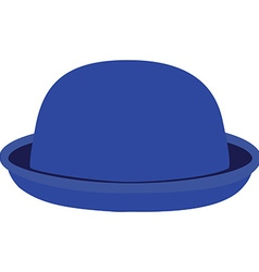 Blue hat vector