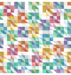 Abstract colorful geometric background with vector image