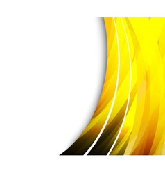 abstract golden shine vector image vector image