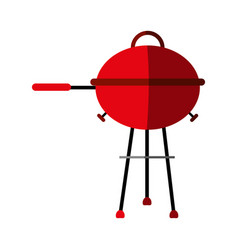 bbq barbecue grill icon image vector image