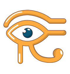 Eye horus icon cartoon style vector