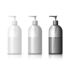 Realistic Dispenser for soap vector image vector image