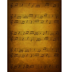 vintage music background vector image vector image