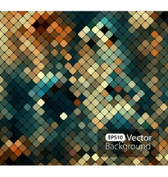 Bright colorful mosaic background vector