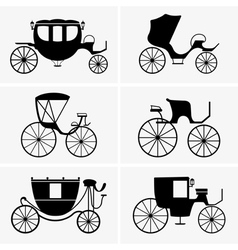 Carriage vector image vector image
