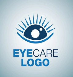 EYE CARE LOGO 6 vector image
