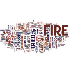 Let there be fire text background word cloud vector