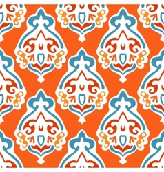 Damask seamless abstract design vector