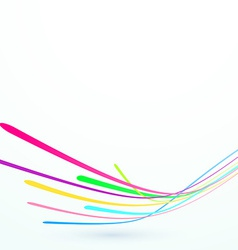 Bright speed stream lines background template vector