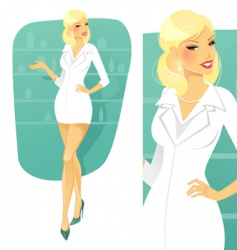 Cosmetician vector