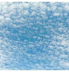 Beautiful Cloudy Sky vector image