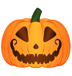 Cartoon jack o lantern pumpkin vector