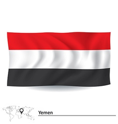 Flag of Yemen vector image
