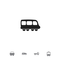 set of 5 editable transport icons includes vector image