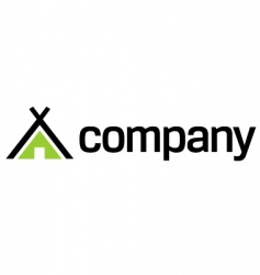 eco travel logo vector image