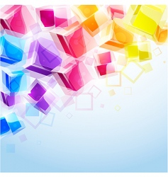 3d bright abstract background vector