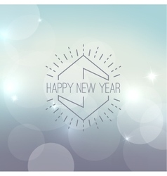 Abstract blurred background with sparkle vector