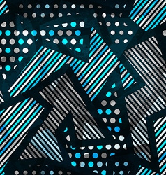 cloth seamless pattern vector image