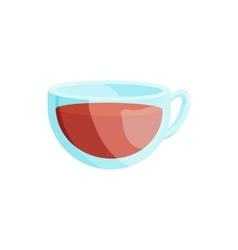 Cup of tea icon cartoon style vector image vector image