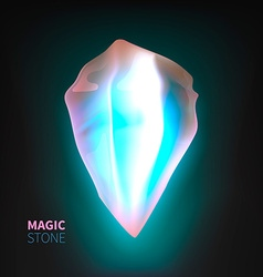 Magic Stone vector image vector image