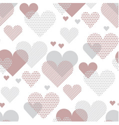 Love heart concept for backdrop simple stylized vector