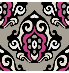 Damask seamless motif vector