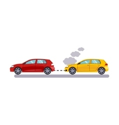 Car and transportation towing cars vector