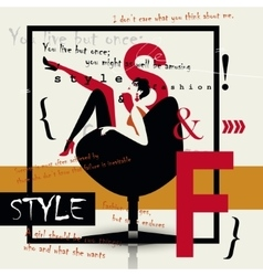 Style and fashion vector