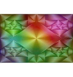 Geometric coloring background vector image