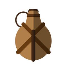 Hand grenade icon image vector