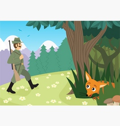 hunting season vector image