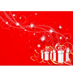 new years composition vector image