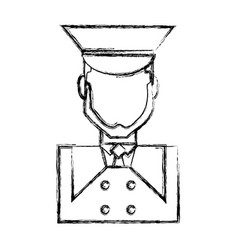 bellboy man icon vector image