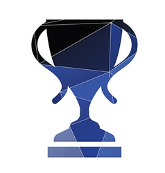cup icon Abstract Triangle vector image