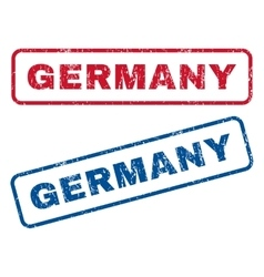 Germany Rubber Stamps vector image vector image