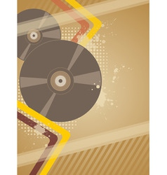 music plate vector image