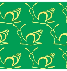 snailpat4 vector image vector image