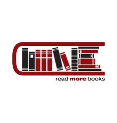 books icon vector image
