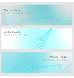 Set abstract background vector