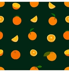 Orange pattern vector