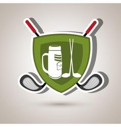Golf equipment design vector