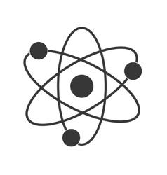 Atom icon science design graphic vector