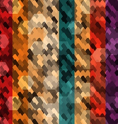 Abstract color scale seamless vector