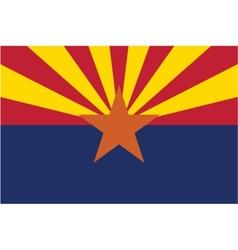 Arizona flag vector