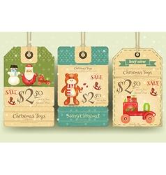 Christmas Toys Sale vector image